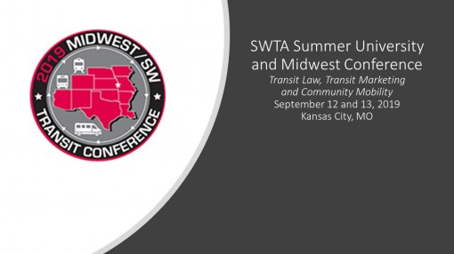 SWTA Summer University and Midwest Conference